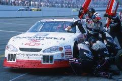 Programa piloto de Kevin Harvick NASCAR foto de archivo
