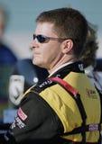 Programa piloto Jeff Burton de NASCAR fotografía de archivo