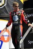 Programa piloto Jeff Burton de NASCAR en N Foto de archivo libre de regalías