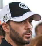Programa piloto Jimmy Johnson de NASCAR Foto de archivo
