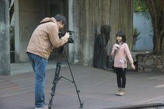 Programa registrado de los pequeños presentadores en SHENZHEN Imagenes de archivo