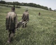 Programa traning militar do desafio da elite Fotos de Stock