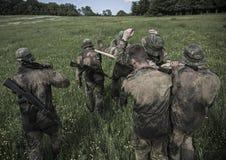 Programa traning militar do desafio da elite Imagem de Stock Royalty Free