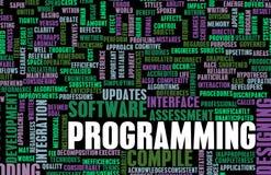 Programación stock de ilustración