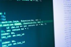 Programación que se convierte y codificación de tecnología fotografía de archivo libre de regalías