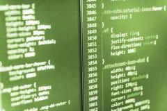 Programación que se convierte y codificación de tecnologías imagen de archivo libre de regalías