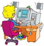 Programador stock de ilustración