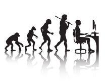 Programador da evolução Foto de Stock
