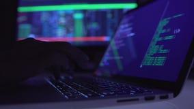Programador de computador imagem de stock