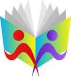 Programas de lectura ilustración del vector