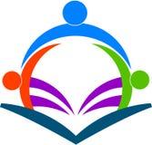 Programas de lectura del libro ilustración del vector