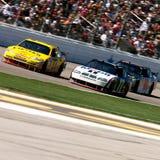 Programas pilotos de NASCAR Imagen de archivo libre de regalías