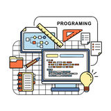 Programing concept Stock Images