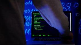 Programisty przedsi?biorcy budowlanego hacker niszczy pisa? kod zbiory wideo
