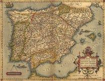 Programma antico della Spagna Fotografia Stock Libera da Diritti