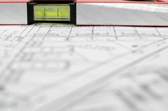 Programma architettonico della casa Fotografie Stock
