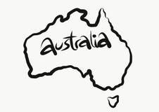 Programma australiano fotografie stock libere da diritti