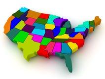 Programma degli S.U.A. Fotografie Stock Libere da Diritti