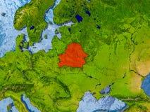Programma del Belarus Fotografia Stock