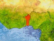 Programma del Benin Illustrazione di Stock