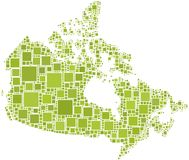 Programma del Canada Immagine Stock