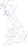 Programma del continente Regno Unito illustrazione di stock