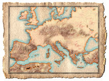 Programma del Europa Fotografia Stock