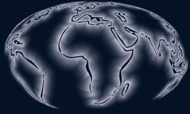 Programma del globo fotografie stock