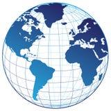 Programma del mondo Fotografia Stock