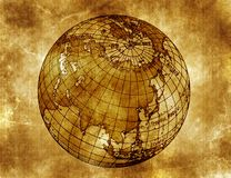 Programma del mondo Illustrazione di Stock