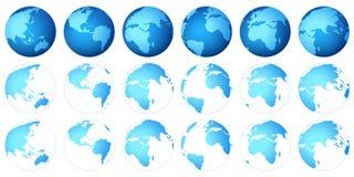 Programma del pianeta Fotografie Stock Libere da Diritti