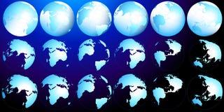 Programma del pianeta illustrazione di stock