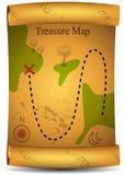 Programma del tesoro dell'oro royalty illustrazione gratis