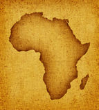 Programma dell'Africa royalty illustrazione gratis
