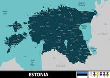 Programma dell'Estonia Fotografie Stock Libere da Diritti
