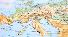 Continente di europa della mappa dell 39 estratto 3d del for Programma della mappa della casa
