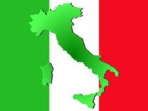 Programma dell'Italia illustrazione di stock