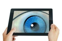 Programma dell'occhio della spia Fotografia Stock