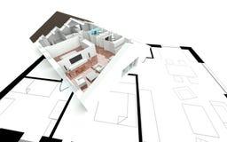 Diriga l 39 ingresso bianco di architettura della scala for Programma casa 3d