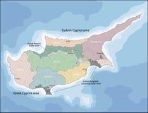 Programma della Cipro Fotografie Stock