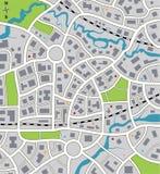 Programma della città illustrazione vettoriale