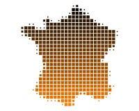 Programma della Francia illustrazione di stock