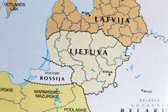 Programma della Lituania Fotografia Stock