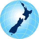 Programma della Nuova Zelanda Immagine Stock