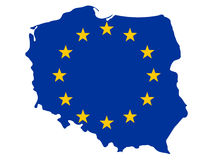 Programma della Polonia Immagine Stock Libera da Diritti