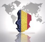 Programma della Repubblica del Chad Immagine Stock