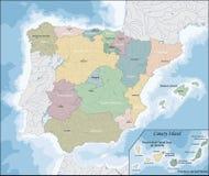 Programma della Spagna Immagini Stock