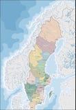 Programma della Svezia Fotografia Stock Libera da Diritti