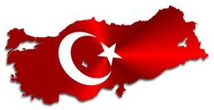 Programma della Turchia illustrazione di stock
