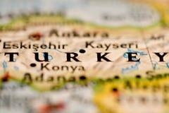 Programma della Turchia Immagini Stock